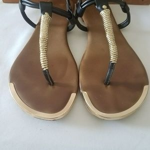 b1547a627ac8 Mossimo Supply Co. Shoes - Mossimo T-strap sandals sz 9.5